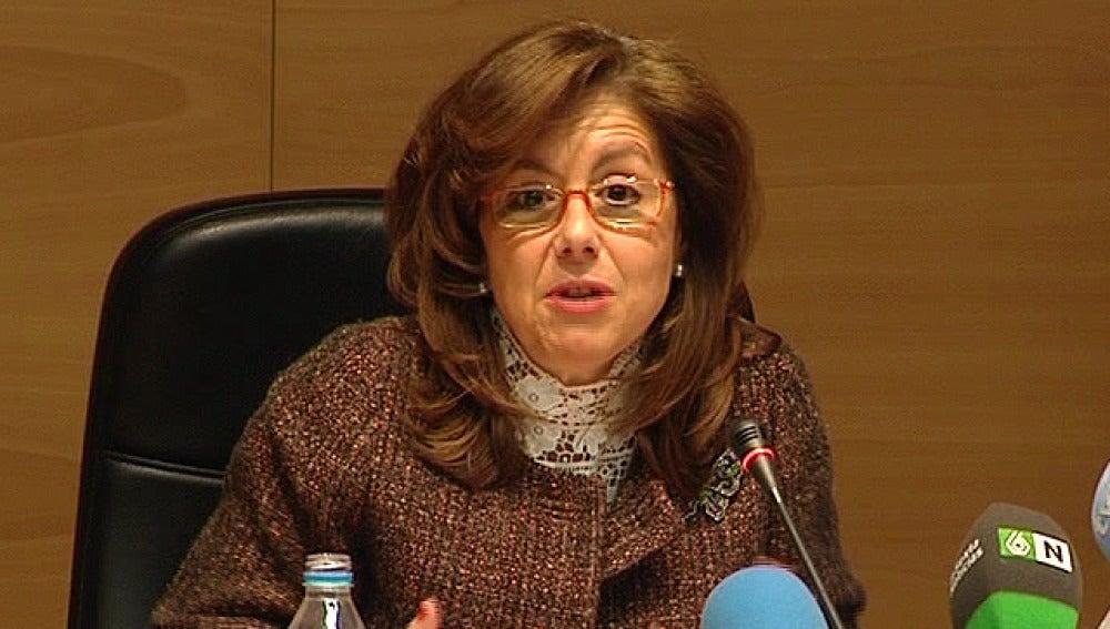 La directora general de Hacienda, Beatriz Viana