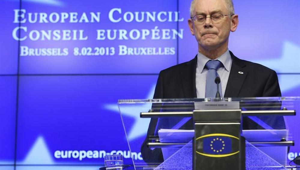 """Van Rompuy dice que el acuerdo, aunque """"modesto"""", era el único"""