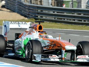 Bianchi a bordo del Force India