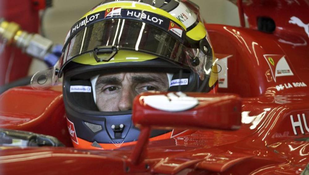 De la Rosa en Ferrari