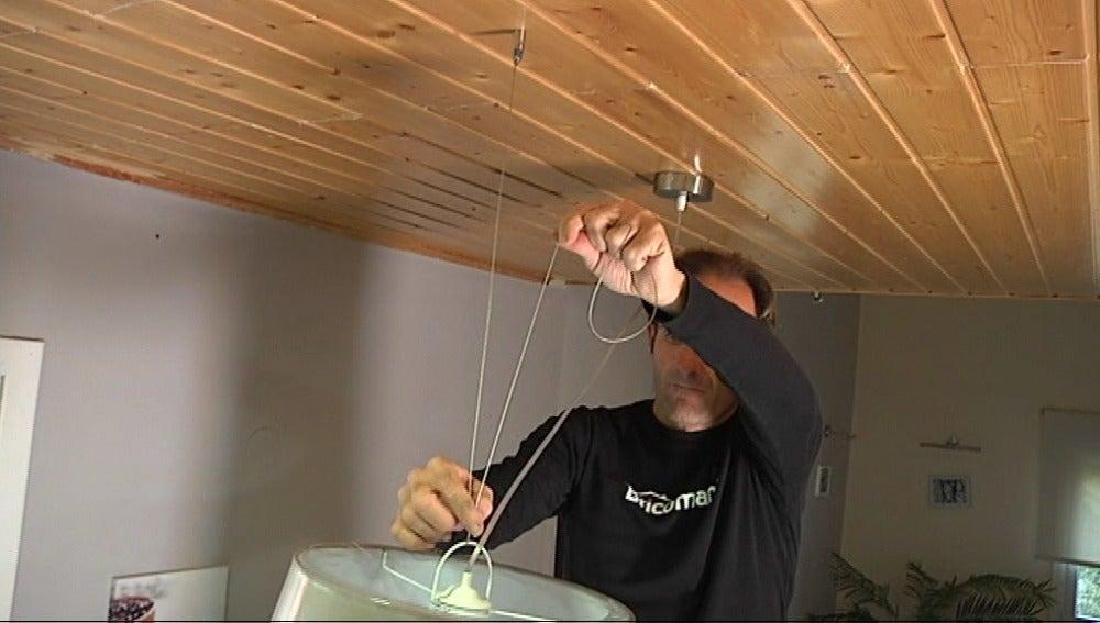 Antena 3 tv c mo desplazar un punto de luz en el techo for Como encielar un techo