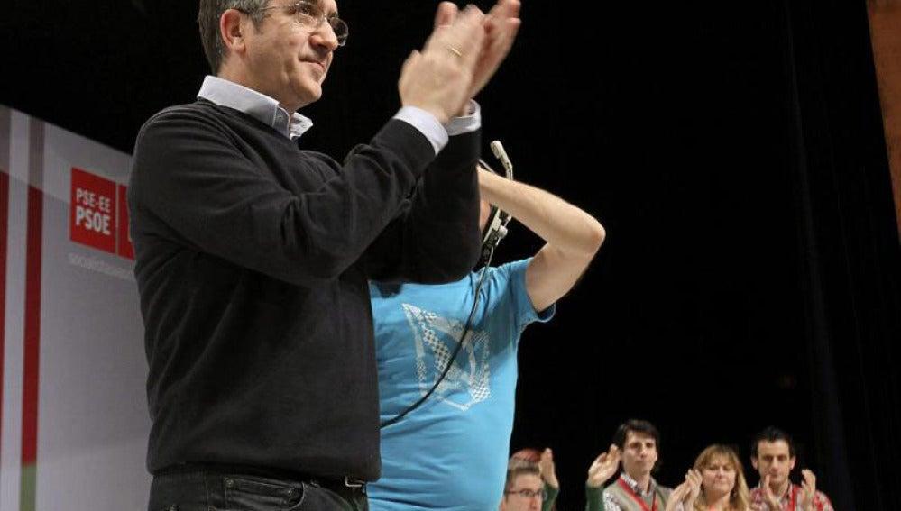 Patxi López en el Congreso socialista del PSOE.