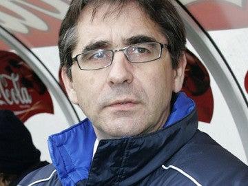El entrenador Fernando Vázquez