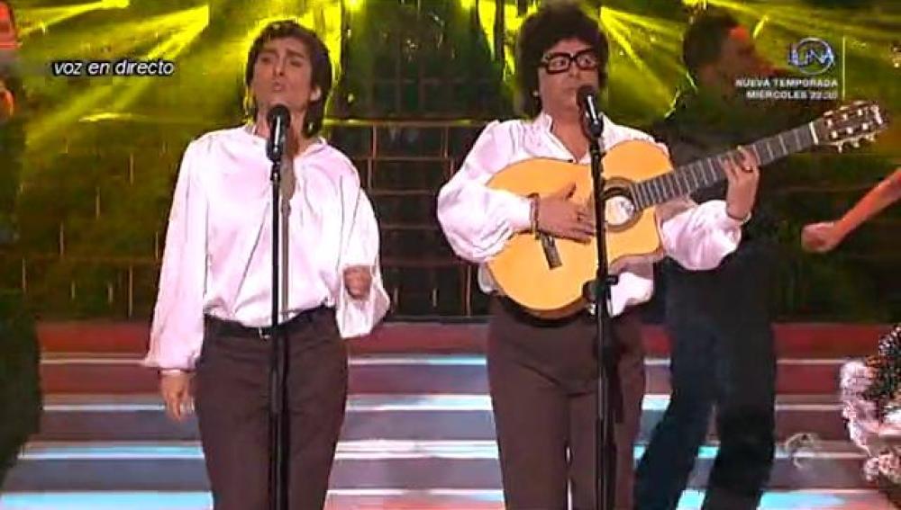 Ángeles Muñoz y María del Monte