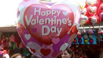 Globo de corazón para el Día de los enamorados