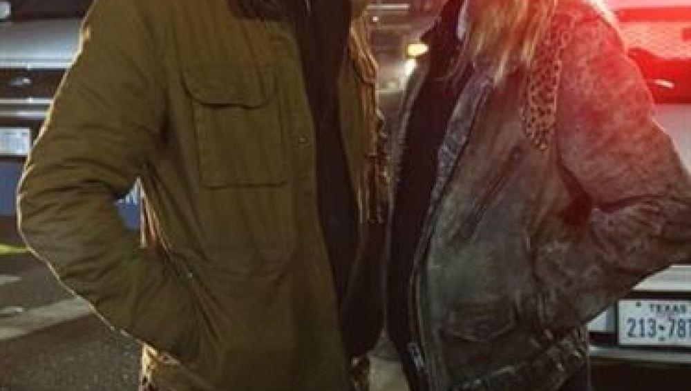 Demián Bichir y Diane Kruger