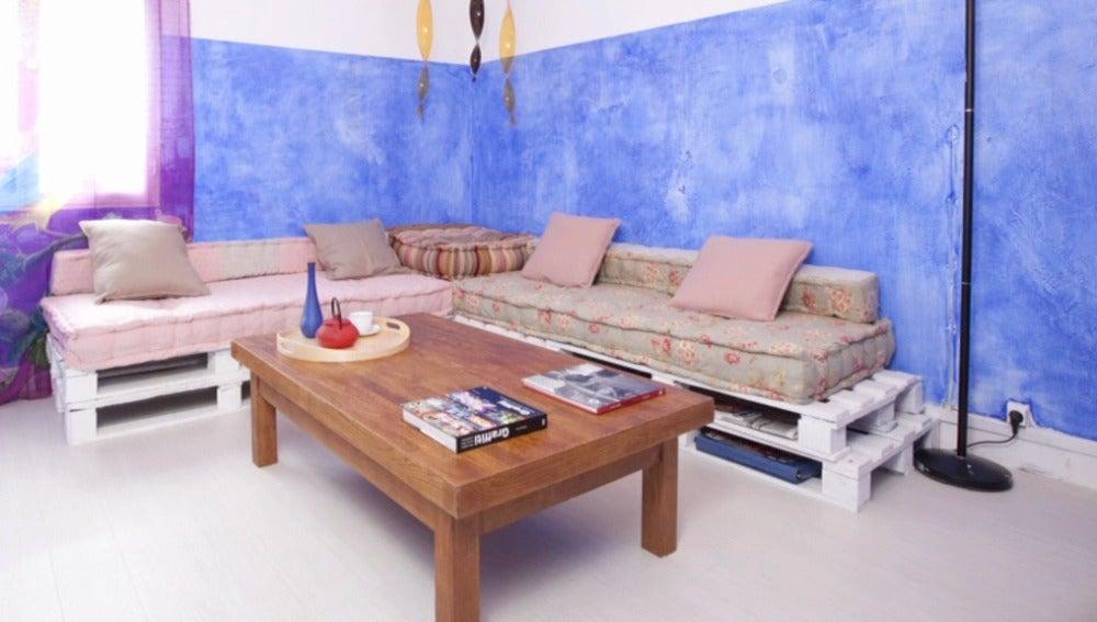 Un salón muy espiritual