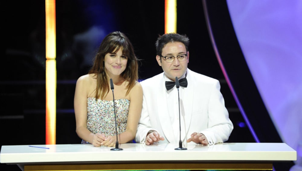 Adriana Ugarte y Carlos Santos