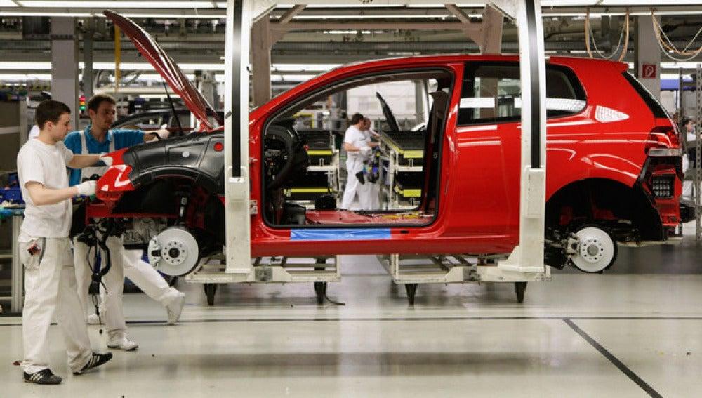 Fábrica de coches en Alemania
