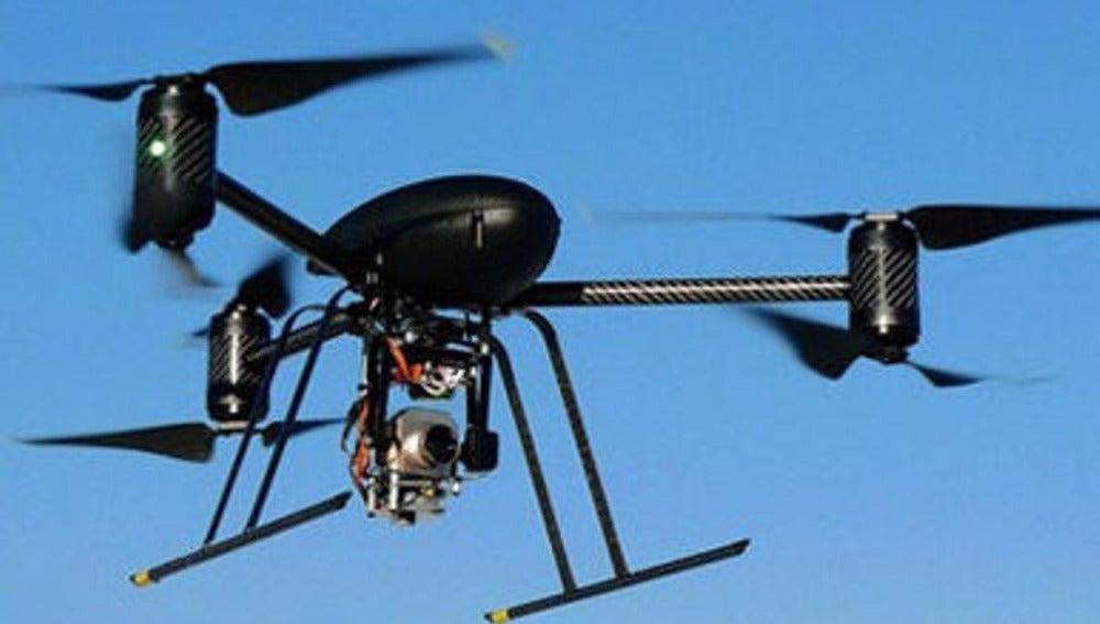 Uno de los 'drones' utilizados por la Policía de Estados Unidos
