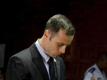 Pistorius durante el juicio