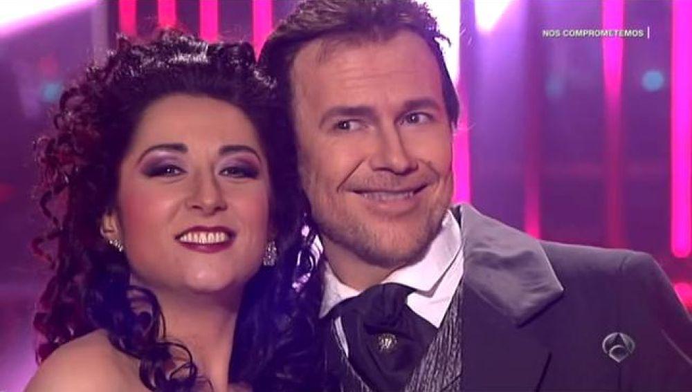 Ángeles Muñoz y Santiago Segura