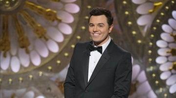 Seth MacFarlane en el escenario durante la gala de los Oscar