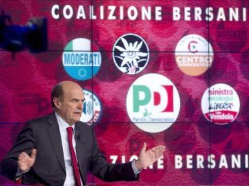 El líder del centroizquierda italiano, Pierluigi Bersani