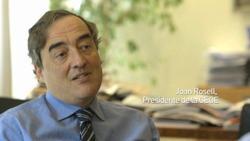 Joan Rosell charla con Jordi Évole en Salvados