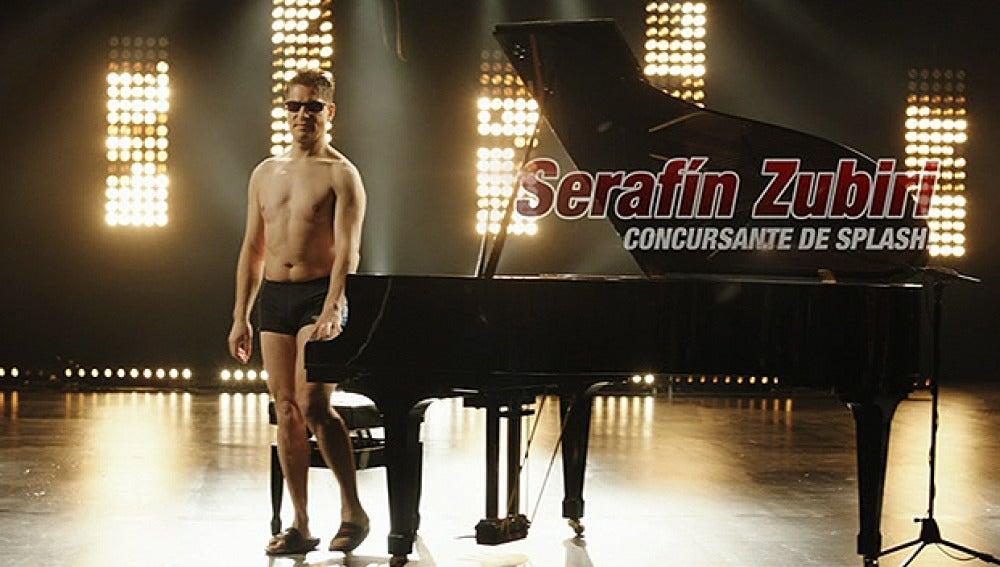 Promo Serafín Zubiri | Splash, Famosos al agua