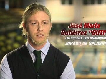 Guti, jurado de Splash