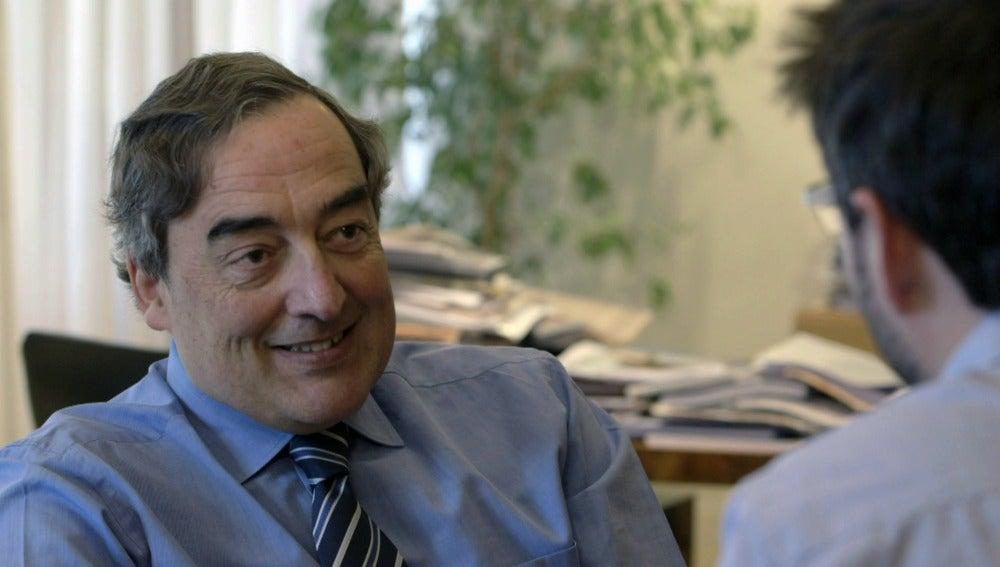 Juan Rosell, presidente de la CEOE