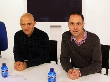 Antonio Lobato y Jacobo Vega