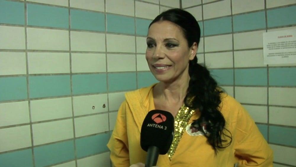 """Toñi Salazar: """"Es la primera vez que hago esto en mi vida"""""""