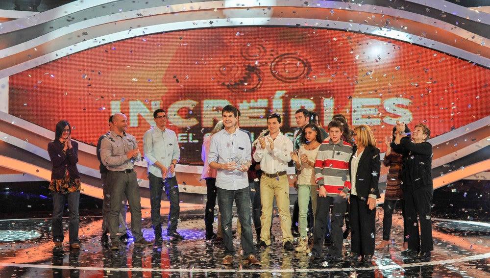 David Cantalejo gana la quinta gala de 'Increíbles'