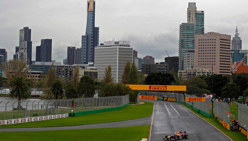 El trazado del GP de Australia en Albert Park