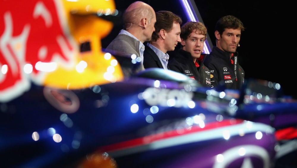 Presentación del RB9 de Red Bull