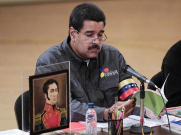 El presidente encargado de Venezuela, Nicolás Maduro