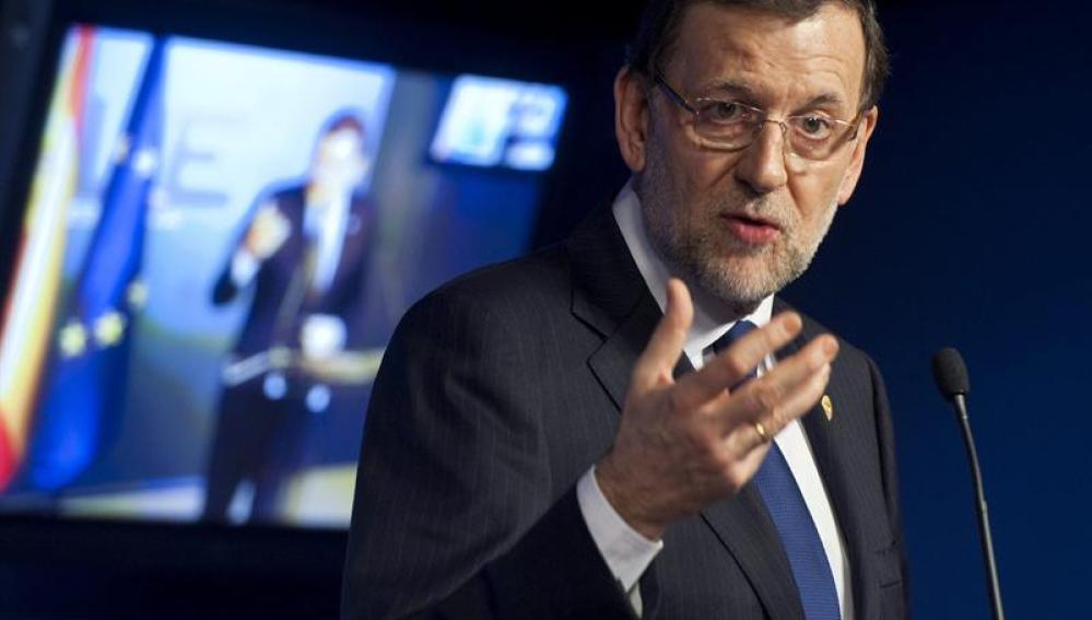 Rajoy en el Consejo de la UE