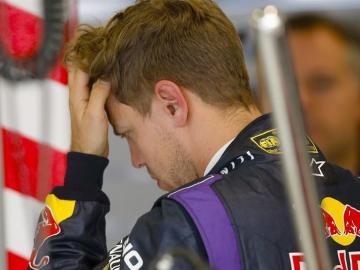 Vettel, preocupado en los Libres