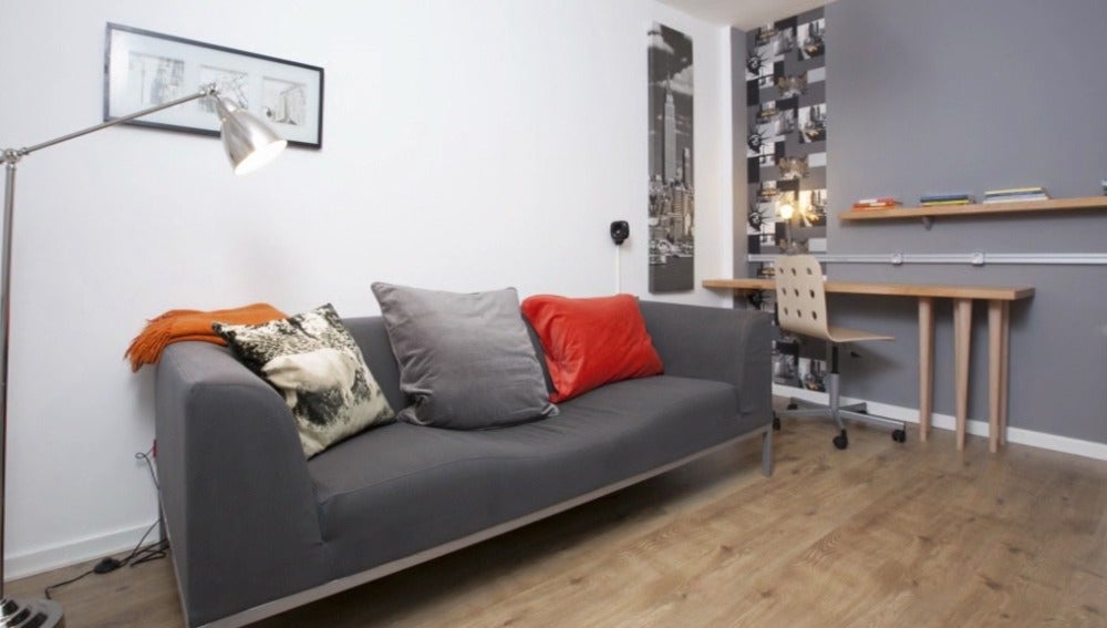Una habitación estilo newyorkino