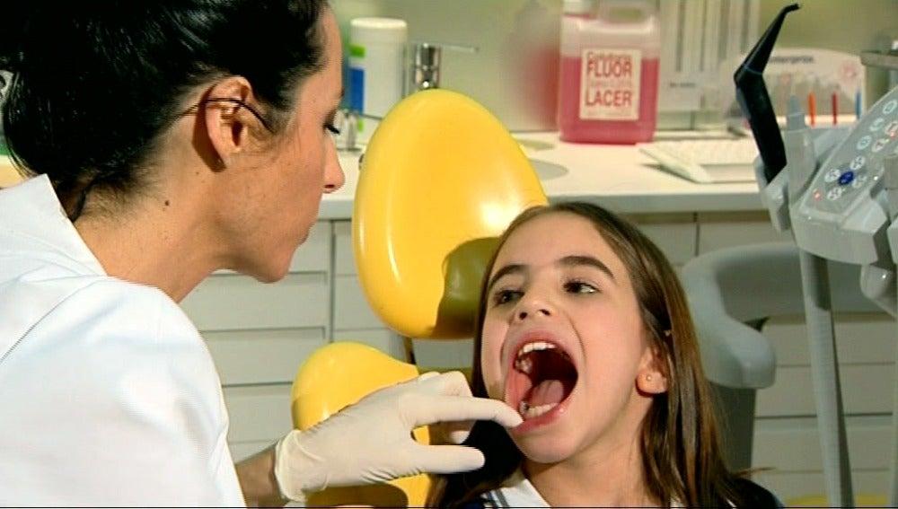 Los dientes de leche