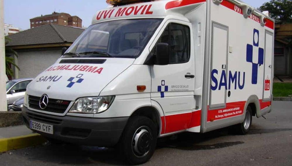 Ambulancia en Asturias