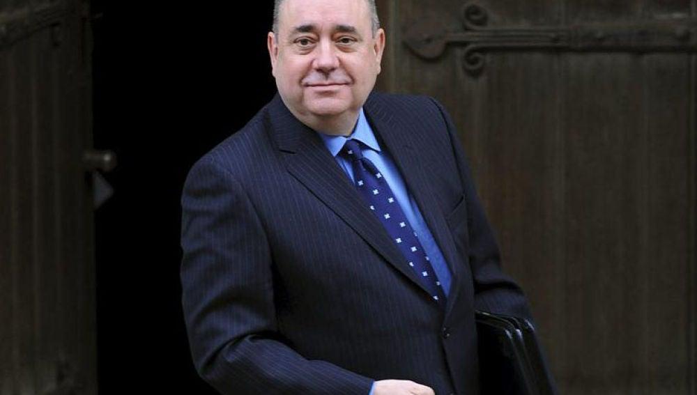 El ministro principal escocés, el independentista Alex Salmond