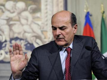 Bersani propone hacerse cargo de la formación de Gobierno