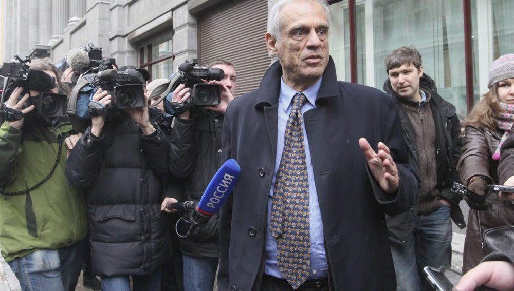 El ministro de Finanzas chipriota, Mijalis Sarris
