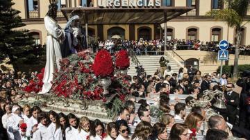 Procesión de Semana Santa en Málaga (Archivo)