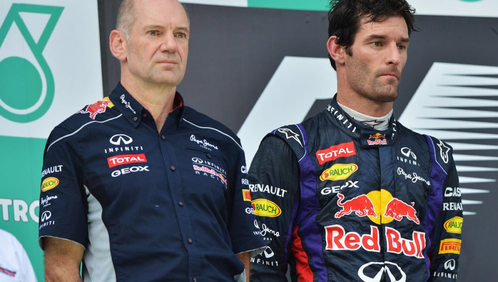 Webber, junto con Adrian Newey