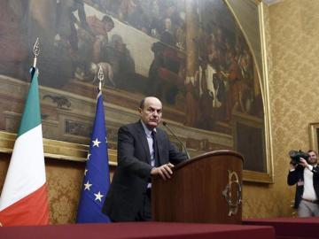 Luigi Bersani, líder del Partido Demócrata