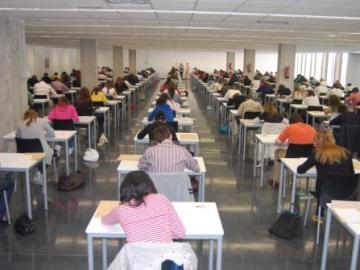 Un aula de la Universidad CEU