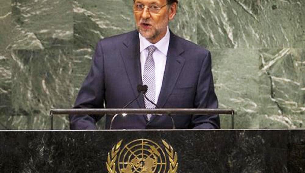 Rajoy en el Consejo de Seguridad de la ONU.