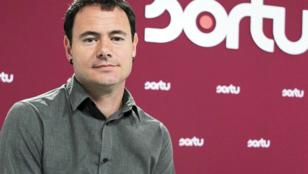 El presidente de Sortu, Hasier Arraiz.