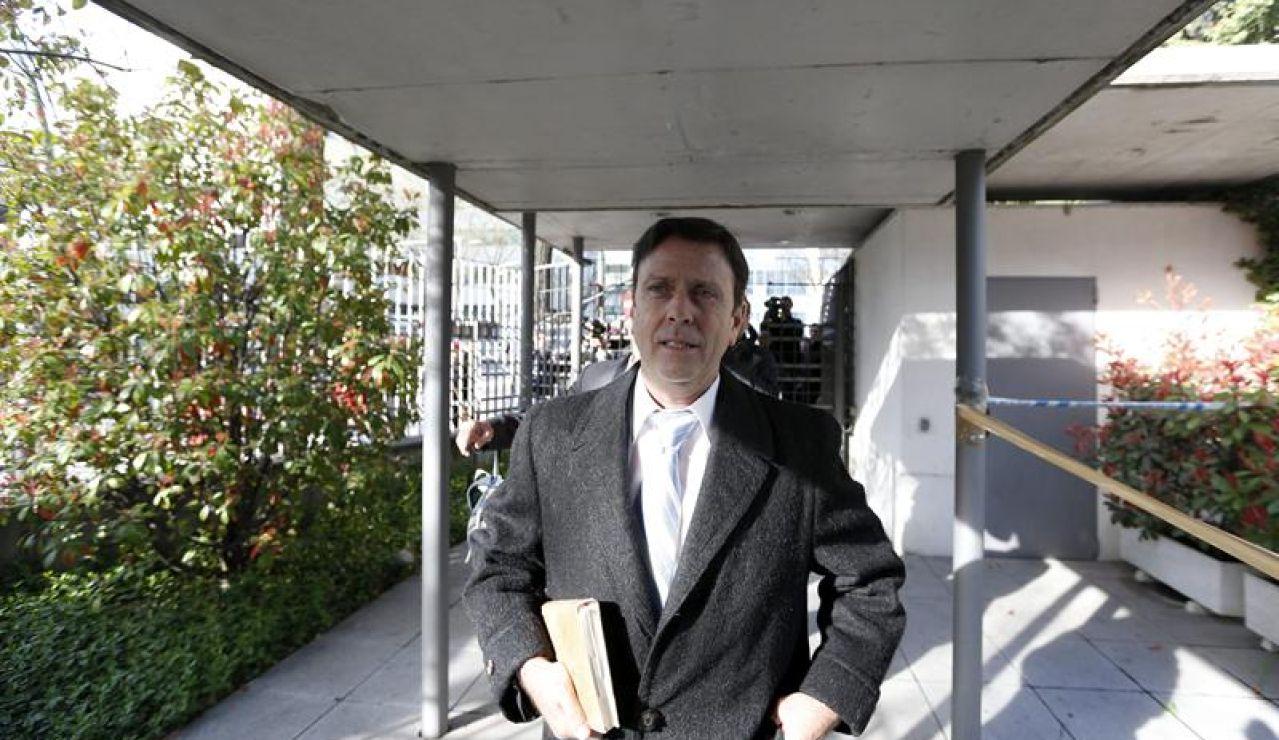El médico Eufemiano Fuentes, a su llegada a la última sesión del juicio de la Operación Puerto