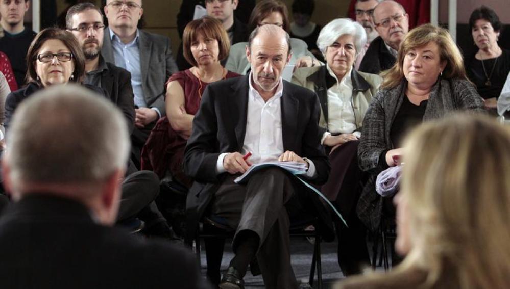 Rubalcaba propone crear un fondo de emergencia de mil millones para 2013