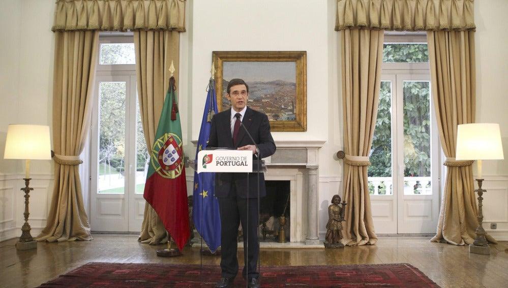 Passos Coelho, primer ministro de Portugal