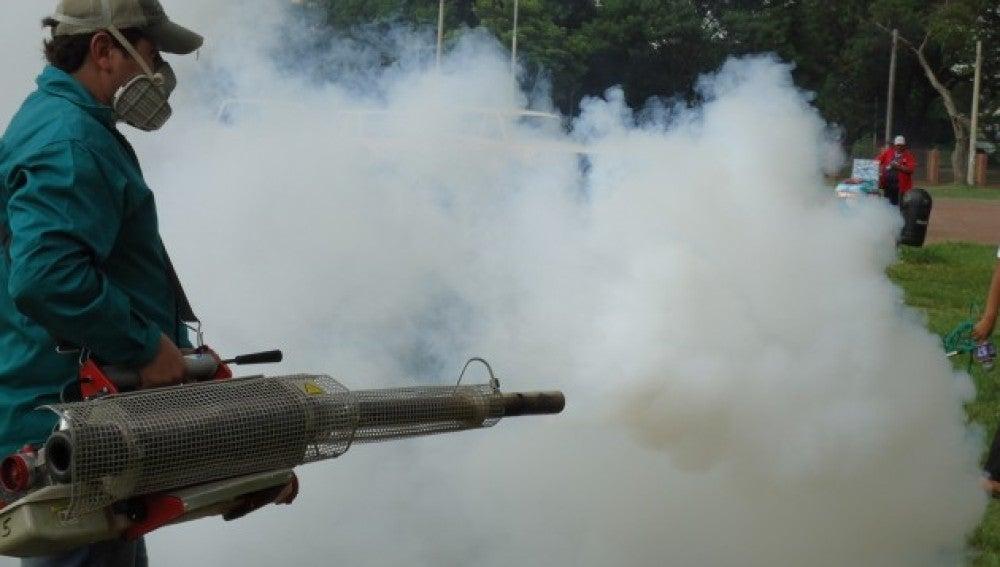 La fumigación es fundamental para combatir los mosquitos que transmiten el dengue