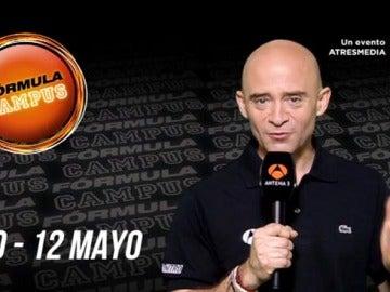 Antonio Lobato te invita a vivir Fórmula Campus