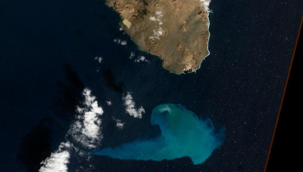 La erupción submarina de El Hierro