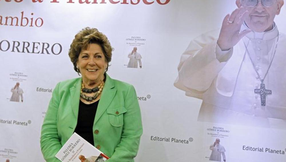 Paloma Gómez Borrero prenseta De Benedicto a Francisco: el cónclave del cambio'