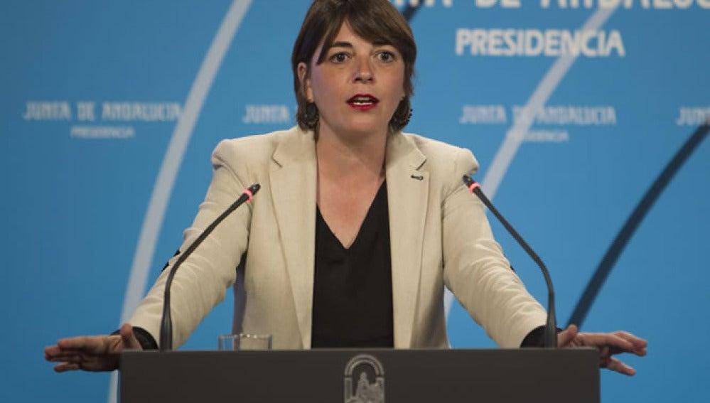 Elena Cortés, Consejera de Vivienda de Andalucía.